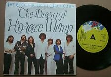 """ELO DIARY OF HORACE WIMP 7"""" PROMO + P/S - TEAR ON LABEL UK"""