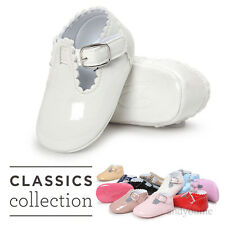 0-18M Baby Leather Soft Sole Shoes Toddler Boy Girl Crib Moccasin Sneakers Shoes