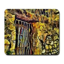 Window In Old Stone House Athens Greece KPA Mouse Mat Pad Mousepad