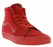 NEW Vans SK8-Hi Shoes Sneaker Skate Shoes Red VN000TS9HEW Leisure SALE WOW
