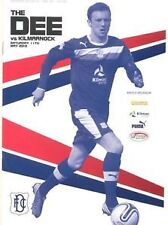 Dundee FC Home Programmes 2012-2013 Brand New