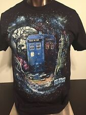 DR. WHO & The Daleks 1965 movie POLICE phone Booth Vintage Retro MEN'S T-Shirt