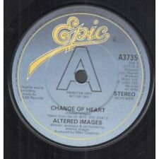 "ALTERED IMAGES Change Of Heart 7"" VINYL UK Epic 1983 Promo B/W Another Lost"