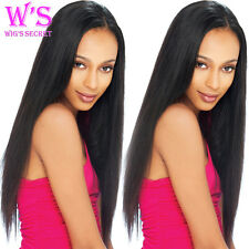 7A Natural Curly Brazilian Human Hair Lace Front Wigs Full Lace Wigs Baby Hair