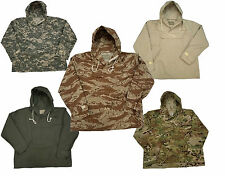 Military Hooded Anorak Parka Jacket Hoodie by John Ownbey Company Colors Sizes