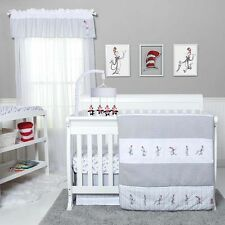 Trend Lab The Cat in the Hat Comes Back Baby Nursery Crib Bedding Set New