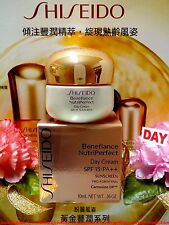 "Shiseido Benefiance NutriPerfect Day Cream SPF15◆(10ml/0.36oz)◆NIB ""FREE POST!"""