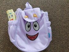 Dora the Explorer Plush Backpack with Map Functional for Play or Travel Nick Jr