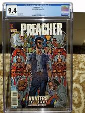 Preacher #17  CGC 9.4 White Pages!