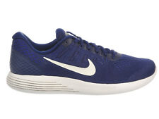 NEW MENS NIKE LUNARGLIDE 8 RUNNING SHOES TRAINERS BINARY BLUE / SUMMIT WHITE