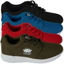 Santa Monica Polo Club Boys Youth Trainers Lace up Sports Footwear Kids Shoes