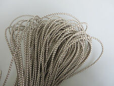 1/5/10 Yards Genuine Bolo Braided 3mm Round Leather Thong Cords Crafts Jewelry