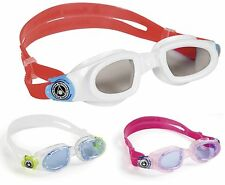 Aqua Sphere MOBY KID tinted Swimming goggles for kids NEW