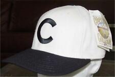 MLB Chicago Cubs Baseball White Black  Fitted Hat Cap