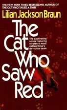 Cat Who...: The Cat Who Saw Red 4 by Lilian Jackson Braun (1986, Paperback)