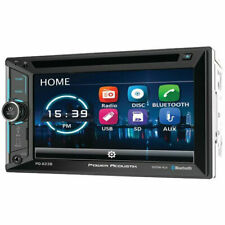 "Power Acoustik PD-623B Double DIN Bluetooth DVD Car Stereo w/ 6.2"" Touchscreen"