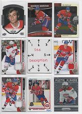 Montreal Canadiens BLOWOUT Lot #2 - Serial #'d - Rookie - Jersey - Auto - U-PICK