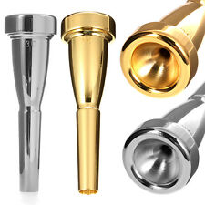 Metal Trumpet Mouthpiece for Bach 3C 5C 7C Silver/Gold Plated Musical Instrument