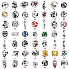 Silver Charms Bead Fashion Jewelry For European 925 Sterling 3mm Bracelet Chain