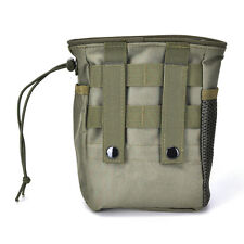 Small Military Molle Tactical Magazine Pocket DUMP Ammo Drop Utility Pouch HF