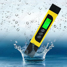LCD Digital TDS pH TEMP PPM Meter Tester Filter Pen Stick Water Quality Purity