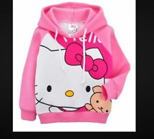 Sanrio Hello Kitty Girls Hoodie Jacket Jumper Hoody Sweatshirt