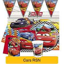 Disney Pixar CARS RSN Birthday PARTY Range - Tableware, Balloons & Decorations