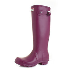 Womens Hunter Original Tall Violet Wellington Wellies Boots UK Size