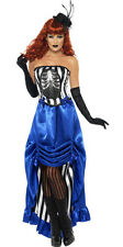 Ladies Victorian Costume Deluxe Halloween Fancy Dress Outfit New 12-14 16-18