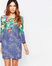 New Traffic People Floral Aina Penny Smiles Dress Sz M - UK 10-12