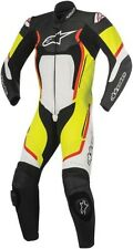 Alpinestars Motegi V2 1-Piece Mens Leather Suit Black/White