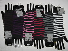 Fingerless Acrylic Soft Sweater Knit Gloves/Arm Warmers OS *4 Colors* Per Pair