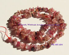 Discount for Wholesale Natural Pink Tourmaline Nugget Chip Beads 2x5mm Jewelry
