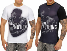 Ali Impossible is nothing Short Sleeve Shirt Clubwear T-Shirt Short-sleeved