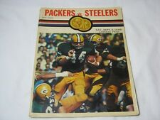 Green Bay Packers vs Steelers Lambeau Field Sept 1969 Program T*
