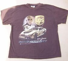 DALE JARRETT  NASCAR UPS #88  Brown T Shirt  XL  Winners Circle  Ford Fusion