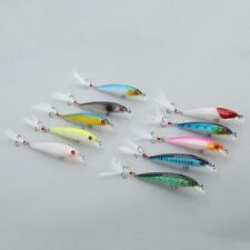 Crankbait Minnow Fishing Lure Fishing Bait 9cm/7.2g Feather Fishing Tackle Lure