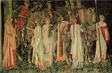 Holy Grail Tapestry -The Arming and Departure of the Knights Giclee Canvas Print