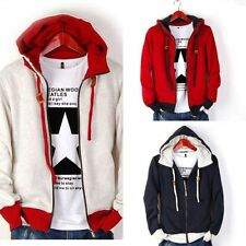 Hot Men's Casual Fashion Slim Fit Sexy Designed Hoodies Sweats Jackets Coats h