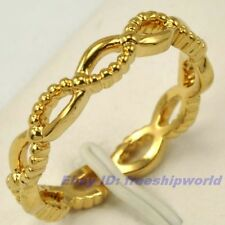 Size 8,9,10 Ring,REAL ARISTOCRATIC 18K YELLOW GOLD GP GEMSTONE SOLID FILL 1000r