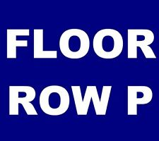 The National tickets Chicago Civic Opera House 12/12 ***MAIN FLOOR, ROW P!***