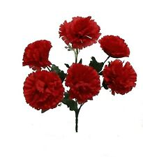 72 Carnations ~ MANY COLORS ~ Centerpieces Bridal Silk Wedding Flowers Bouquets