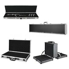 Aluminum Hard Single Rifle Gun Case Large Shotgun Case Carrying Box Gun R5E7