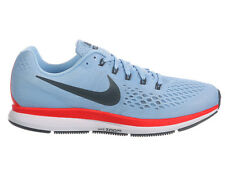 NEW MENS NIKE AIR ZOOM PEGASUS 34 RUNNING SHOES TRAINERS ICE BLUE / BLUE FOX