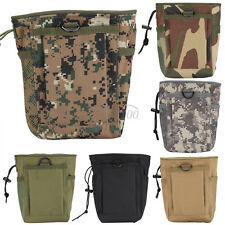 Outdoor Hunting Hiking Waterproof Nylon Large Capacity Waist Pouch Carry Bag DH