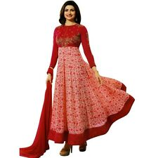 Designer Anarkali Suit Salwar Kameez Bollywood Dress Indian Pakistan-Prachi-4748