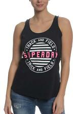 Superdry Tank Women TRACK + FIELD VEST Eclipse Navy