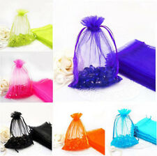 100Pc Organza Jewelry Packing Pouch Wedding Party Favor Supplies Gift Candy Bags