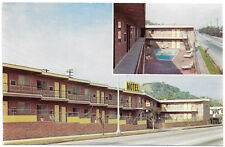 Postcard Swimming Pool at Hollywood Land Lodge Motel in Hollywood, CA~96741