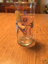"""Pizza Hut E.T. The Extra Terrestrial Glass """"Be Good"""" 1982"""